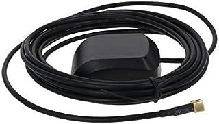 DealMux Antena Activa GPS Interfaz de Codo Macho MCX 3M, 27dB LNA Ganancia 1575.42MHz Señal Activa de GPS Antena más Fuerte