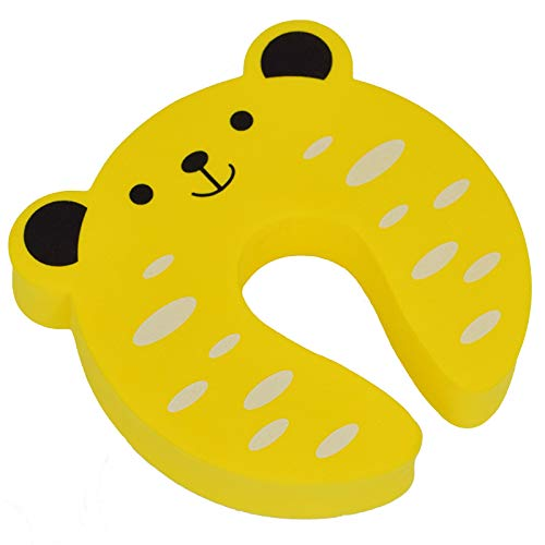Original Foam Door Stopper, Stop Fingers from Getting Smashed or Pinched, BabyProof, Child Guard, Protector, Safety Wedge, Cute, Jam,BPA Free. Beware of Cheap Imitations. KinderGard Since 1974
