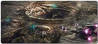 1033108 - スターウォーズ マウスパッド ゲーミング マウスパッド スターウォーズ ラージマウスパッドゲーマービッグマウスマットコンピューターゲーミングマウスパッドキーボードデスクマット ゲーミング オフィス最適 防水 滑り止め 耐久性が良いゲーム おしゃれ,オフィス サイバーカフェなど(サイズ:90x40cm)