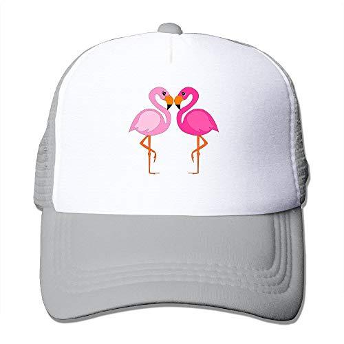 Preisvergleich Produktbild Voxpkrs 2017 New Funny and Happy Flamingos 2 Baseball Hat Design 100% Cotton Baseball Cap