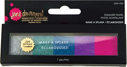 5 tavolozze miste Spellbinders Jane Davenport-Shimmer Pastel Make a Splash