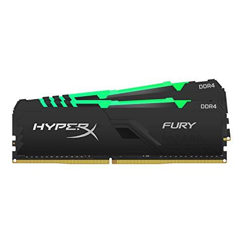 HyperX Fury HX426C16FB3AK2/16 Mémoire RAM DIMM DDR4 16GB (Kit 2x8GB) 2666MHz CL161Rx8 RGB