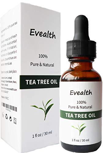 #1 Premium Certified Tea Tree Oil,100% Organic Essential Oil,Undiluted,Therapeutic Grade