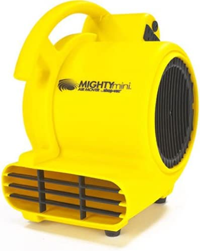 Shop-Air by Shop-Vac 1032000 Mighty Mini Air Mover 3-Speed 3-Position Dryer for Wet Carpets, Floors, Walls & Ceilings...