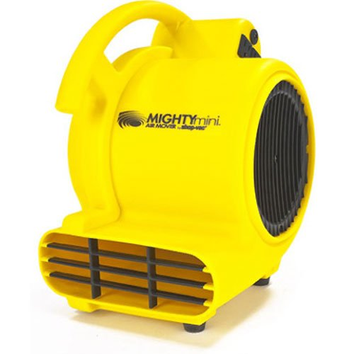 Shop-Air by Shop-Vac 1032000 Mighty Mini Air Mover 3-Speed 3-Position Dryer for Wet Carpets, Floors, Walls & Ceilings, 500 CFM Motor