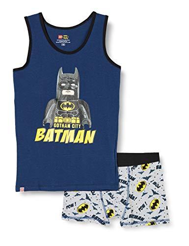 LEGO Jungen MW Set Batman Unterwäsche, 577 Dark Blue, 104