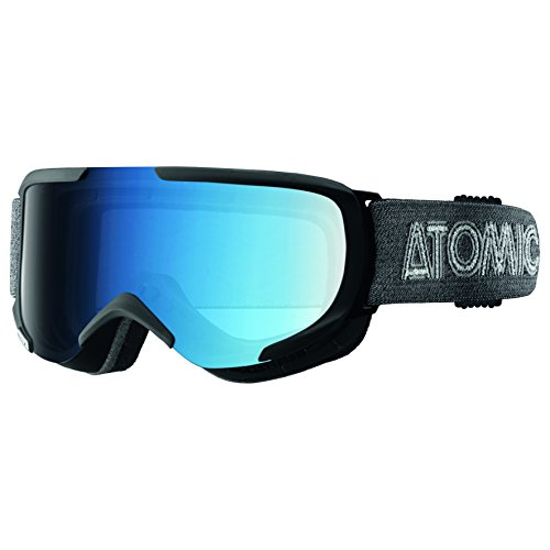Atomic Damen/Herren Skibrille, All-Wetter, Passform S, Live-Fit Rahmen, Savor S Photochromic, Blau/Schwarz, AN5105308