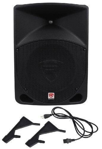 Rockville RPG10 10' Powered Active 600 Watt 2-Way DJ PA Speaker System