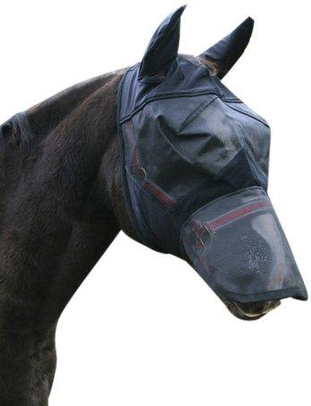 Kerbl Máscara antimoscas Poni, Incl. Protector para el Dorso de la Nariz y Orejeras