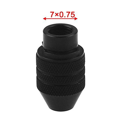 VOOYE Portabrocas Universal de Cambio Rápido DE 0,3 a 3,2 mm para Amoladora Eléctrica Dremel (3,7 x 0,75 DE Largo Cola)