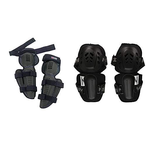コミネ KOMINE バイク 膝プロテクター トリプルニープロテクター3 (左右セット) ブラック フリー SK-608 SK-608 & KOMINE バイク 肘プロテクター プロエルボーガードDX (左右セット) ブラック フリー 04-610 SK-610【セット買い】