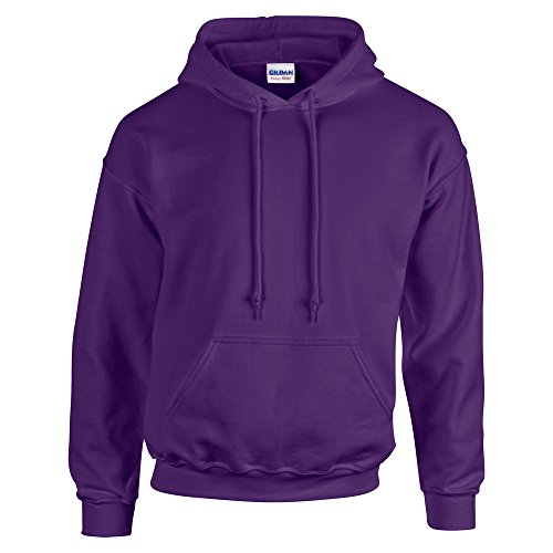 Gildan HeavyBlend, hooded sweatshirt L,Purple