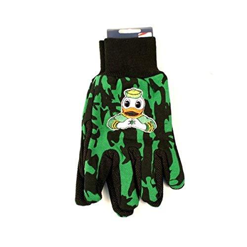 Wincraft NCAA Oregon Ducks Camo Handschuhe, 2er-Pack, Grün/Schwarz