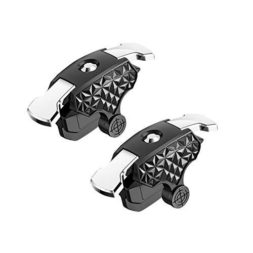 Rong - Ventilador plegable silencioso, mango ergonómico para juegos, controlador ajustable con...