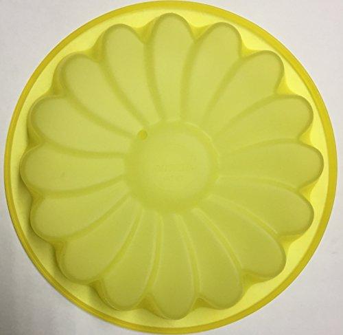 PAVONI Moule en silicone en forme de fleur, multicolore, 24 x 24 x 5 cm