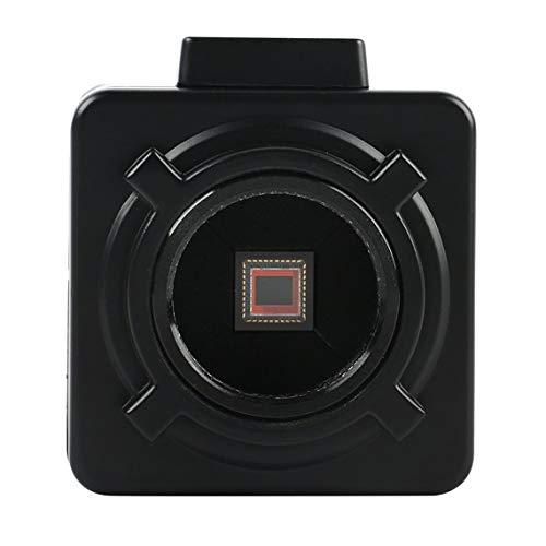 Zinniaya CME-480B/W - Cámara microscopio industrial digital con montaje en C, 100 – 240 V, HDMI, microscopio industrial
