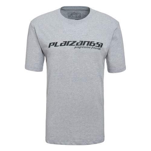 platzangst Logo T-Shirt - Grau Größe S