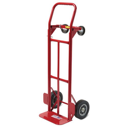 Milwaukee Hand Trucks 35080 Convertible Truck with 8-Inch Puncture Proof Tires