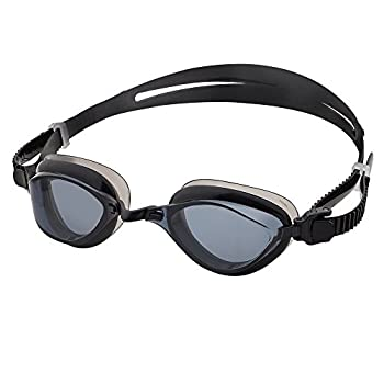 Barracuda Fenix Swim Goggle Curved Lenses for Adults  72755  BLK-N