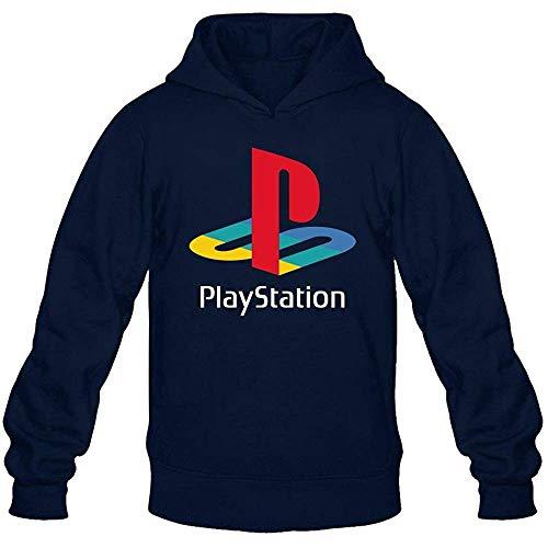 Men's Playstation Logo Hoodie Sweatshirt
