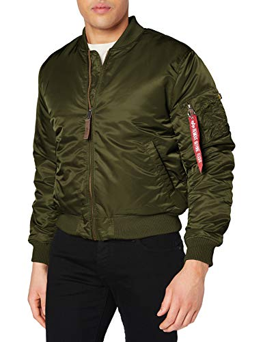 Alpha Industries Herren Jacke MA-1 VF 59, Grün (Sage Green 01), Small