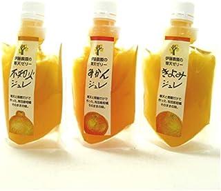 伊藤農園 柑橘ジュレ3種セット(みかん・きよみ・不知火) 150g各2パック計6パック 和歌山・伊藤農園のピュアジュースのジュレ・無添加