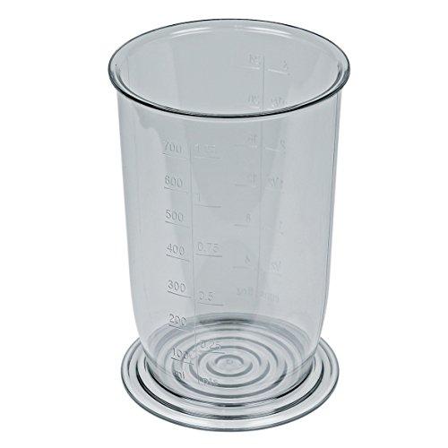 Bosch 481139 00481139 ORIGINAL Mixbecher Behälter Mixmessbecher Kunststoffbecher mit Skalierung Küchenmaschine Küchengerät Stabmixer Handmixer Handrührgerät auch Siemens Constructa Neff Balay