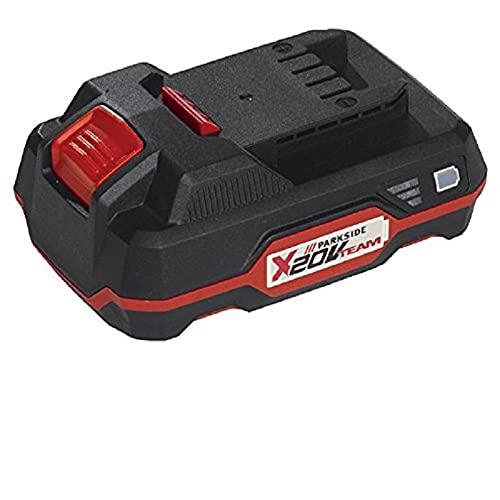 Bateria de 20v Capacidad 2AH Parkside PAP20A1 para Equipos de la Serie X20Vteam Ejemplo taladros, Sierras, Atornillador.