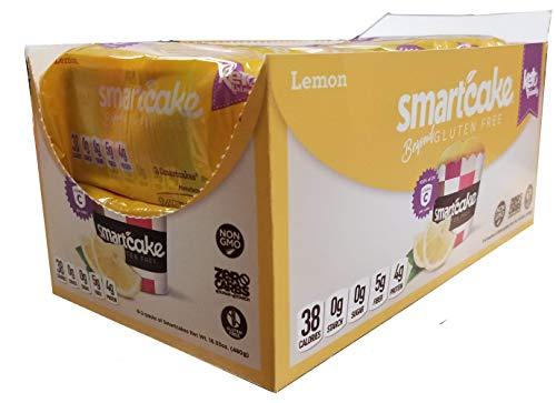 Smart Baking Company Smartcake, Vitamin C, Sugar Free, Gluten Free, Low Carb, Keto Dessert (Lemon, 16 CT)