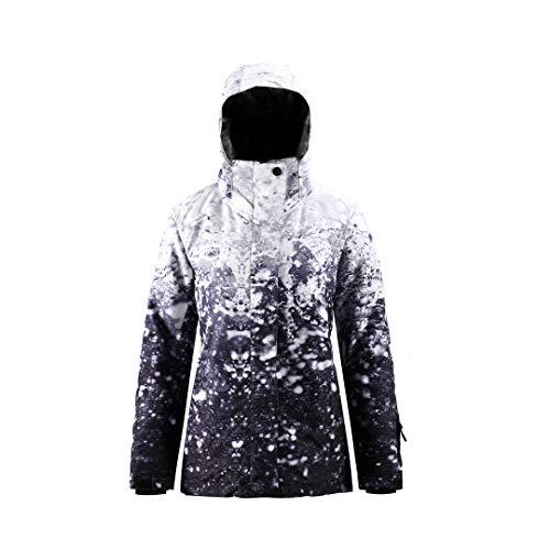 SMN Snow Jacket Womens Ski Jacket and Pants Ski Coat Women Snowboard Jackets Snow Coat Warm Winter Waterproof, 910, Large