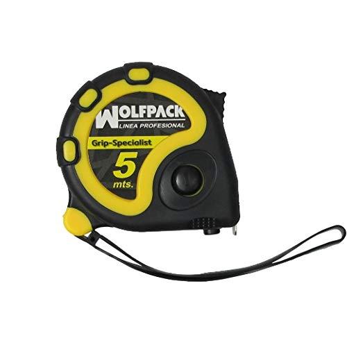 Wolfpack 2302010 Flexómetro, 5 m