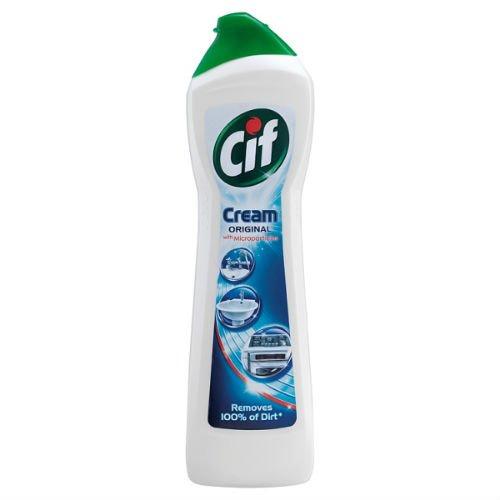 Correa de la Cif de color crema de baño y de la cocina aerosol limpiador de palos de 250 ml bolígrafo con aceite lubricante 6