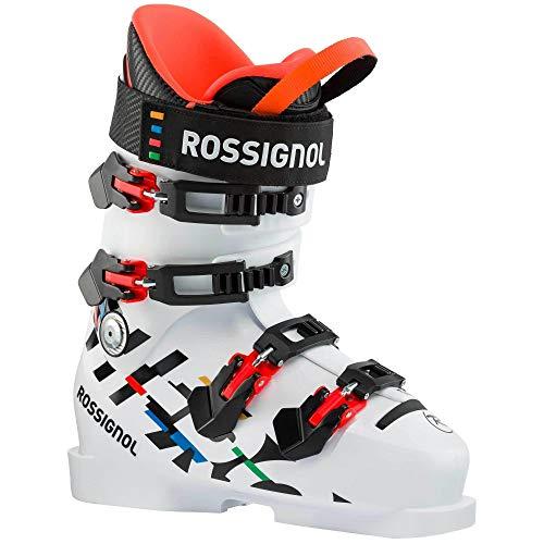 Rossignol Hero World Cup 110 Sc, Stivali da Sci da Ragazzi, Unisex, Bianco, 21.5