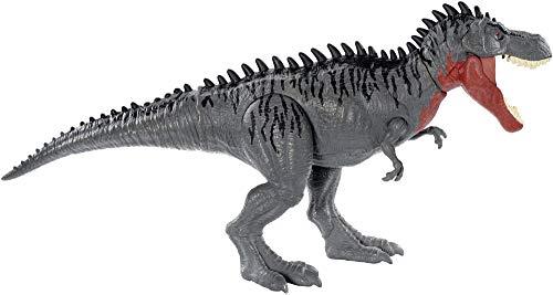 Jurassic World Toys GJP33 Massive Biters Larger-Sized Dinosaur Action Figure, Tarbosaurus, Multi