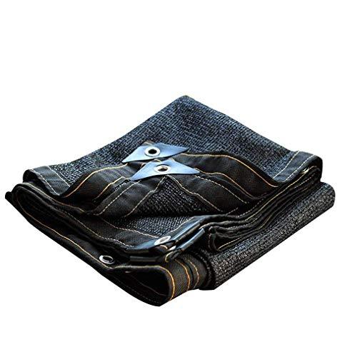 Shade ClothShade Doek Sun Mesh UV Resistant Garden Shade Mesh Tarp Shade Fabric Pergola Canopy Cover,Kleur : Zwart, 4 * 5m