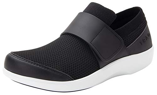 TRAQ BY ALEGRIA Qwik Womens Smart Walking Shoe Black Top 10 M US