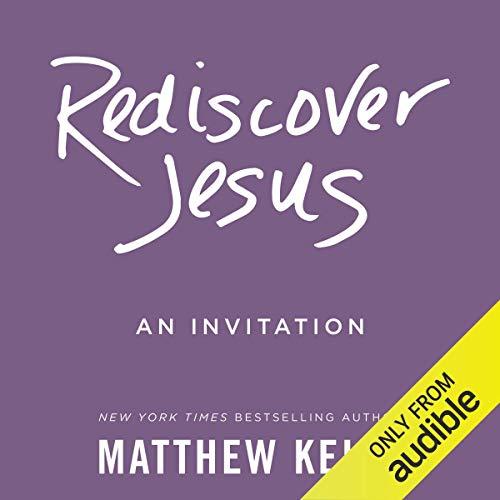 Rediscover Jesus audiobook cover art