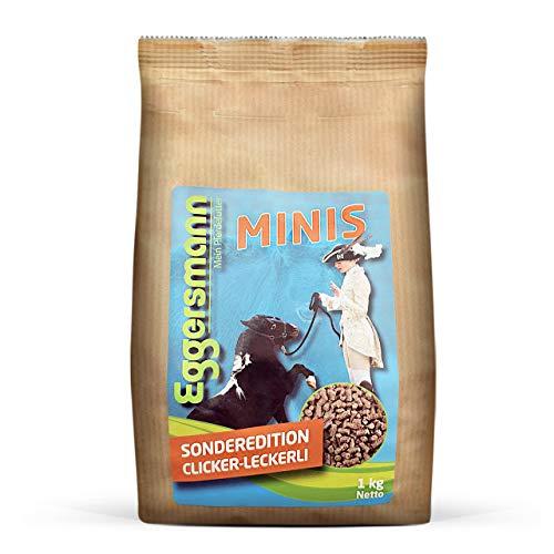 Eggersmann Minis Kleine paardensnij-klikker, graanvrije lekkervlies voor paarden en ponies in verschillende Maten, 1 kg