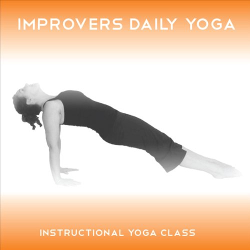 Improvers Daily Yoga audiobook cover art