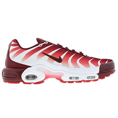 Nike Air Max Plus TN Tuned SE After The Bite Herren Sneaker, - White Red 101 - Größe: 40.5 EU