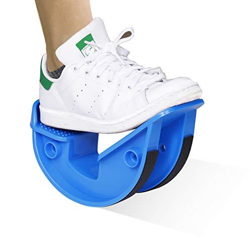 MengH-SHOP Fußwippe Haltbarer Wadenstrecker bei Entzündungen der Achillessehne, Plantarfasziitis, Entlastet Fuß und Schienbein, für Athleten Physiotherapie und Erhöht Flexibilität und Stärke (Blau)