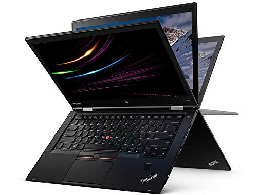 Lenovo ThinkPad X1 Yoga| Intel i7 | 2.6 GHz | 16 GB | 1000 GB SSD | 14 Zoll | UHD 2560x1440 Touchscreen | UMTS | Web Cam | Windows 10 | YO1 Mobiles Business Notebook (Generalüberholt)