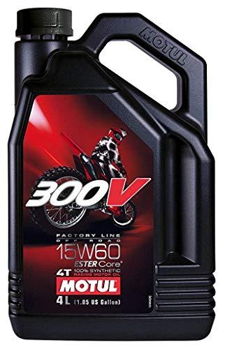 MOTUL 300 V 4T 4-TAKT Factory Line Ester Core Motoröl ÖL 15W60 Motorrad 4 Liter