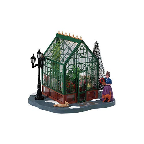 Lemax 84347 - Victorian Greenhouse - Beleuchtetes Gewächshaus - Neu 2018 - Caddington Village - Table Pieces/Tischstücke - Zubehör für Weihnachtswelt/Weihnachtsdorf / Tischdeko