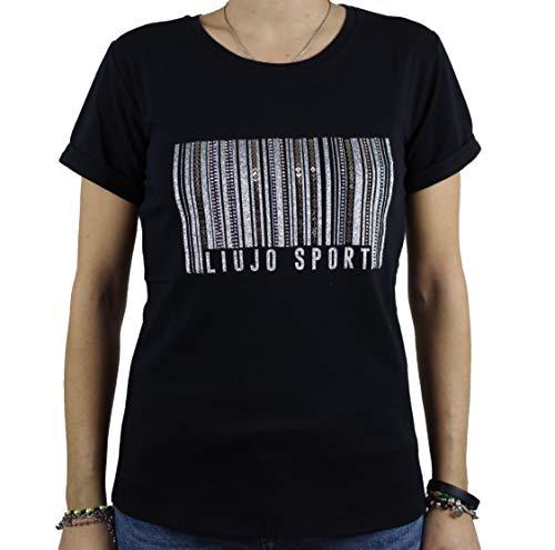 Liu.jo sport - 22222 t-shirt black TA0134J5003