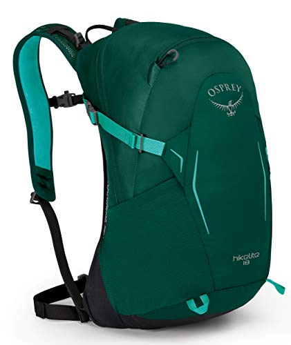 Osprey Hikelite 18 Hiking Backpack, Aloe Green