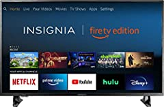 Insignia HD Smart TV – Fire TV Edition delivers 720p picture quality with deep blacks and rich colors. With the Fire TV experience built-in, enjoy tens of thousands of channels, apps, and Alexa skills, including Disney+, Netflix, YouTube, Prime Video...