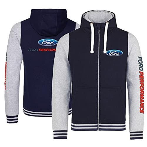 Quarter Mile Clothing RS Racing Ford Performance Varsity Jacke (XL, x_l)