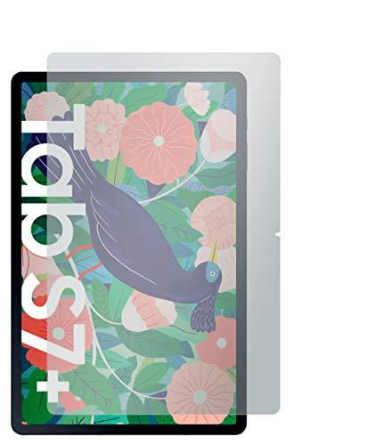 Slabo 2 x Displayschutzfolie für Samsung Galaxy Tab S7+ | Galaxy Tab S7 Plus Displayschutz Schutzfolie Folie No Reflexion | Keine Reflektion MATT