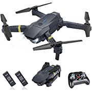 ORRENTE Mini RC Drone for Kids 2.4Ghz 4 Channels Quadcopter Drone Toy for Boys/Beginners, Headless Mode 3D Flips RTF with 2 Modular Battery and 4 Guards